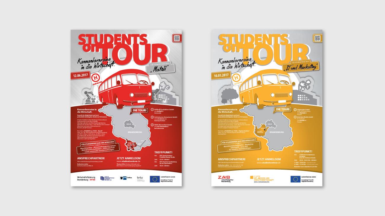 Plakatgestaltung für Plakatkampagnen