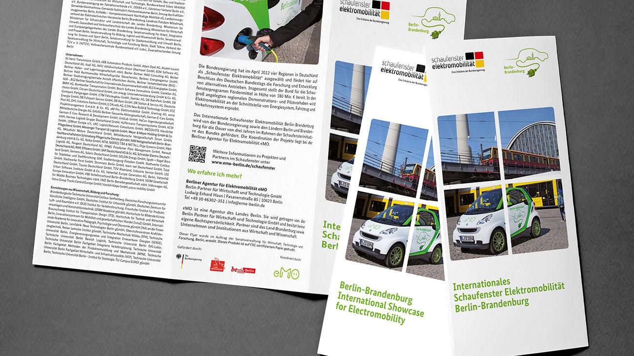 Flyer gestalten mit Bildbearbeitung vogelhaus Büro für gestaltung