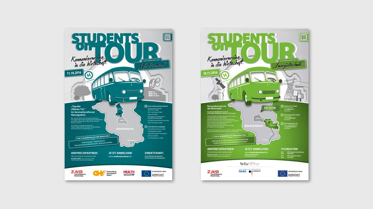 Design für Plakate in Projekten