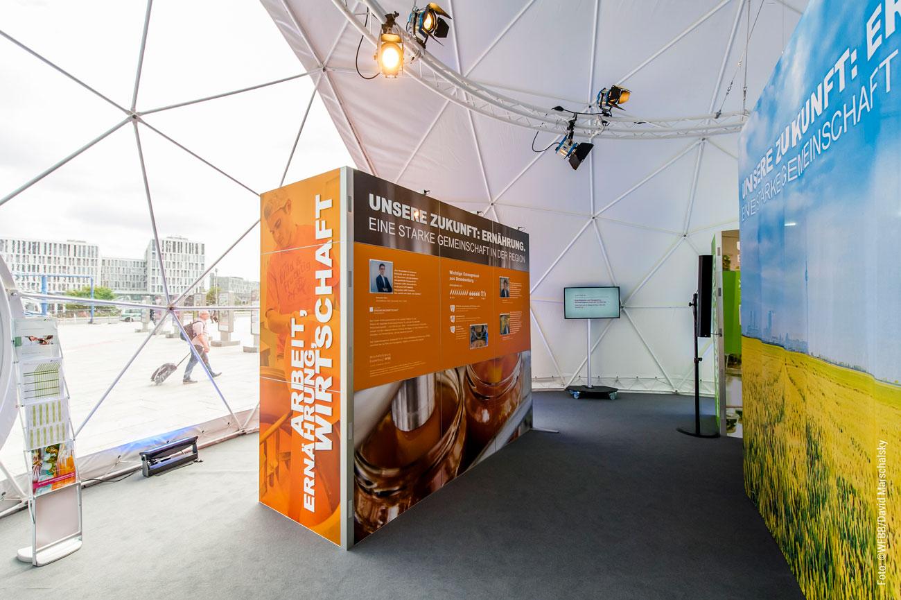 Ausstellungsmodule gestalten und Layouten