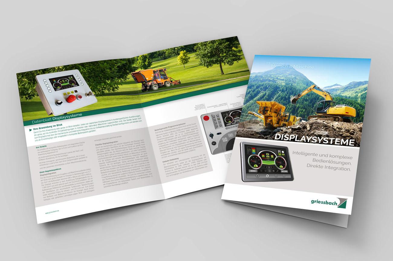 Datennblattdesign Grafik und Design Potsdam für Unternehmen
